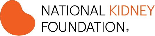 Logo for the National Kidney Foundation, a Pulse Infoframe partner